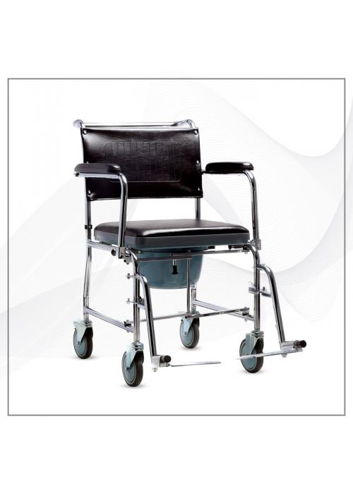 ABC WhiteWheels Ev Tipi Klozetli Tekerlekli Sandalye AL 101