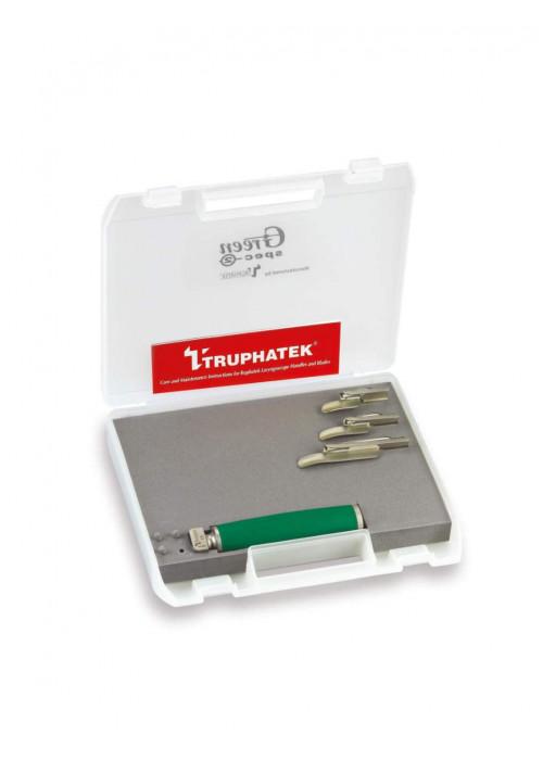 TRUPHATEK - Truphatek GS2 Greenled 3 Blade Pediatrik Laringoskop Seti 4270L
